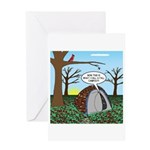 Fall Campout Greeting Card