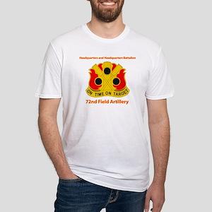 72nd Field Artillery Brigade - DUI Fitted T-Shirt