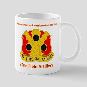 72nd Field Artillery Brigade - DUI Mug