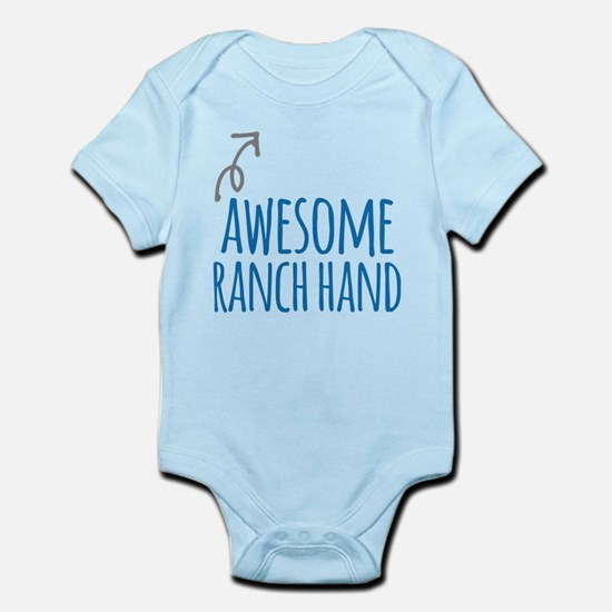 Awesome ranch hand Body Suit