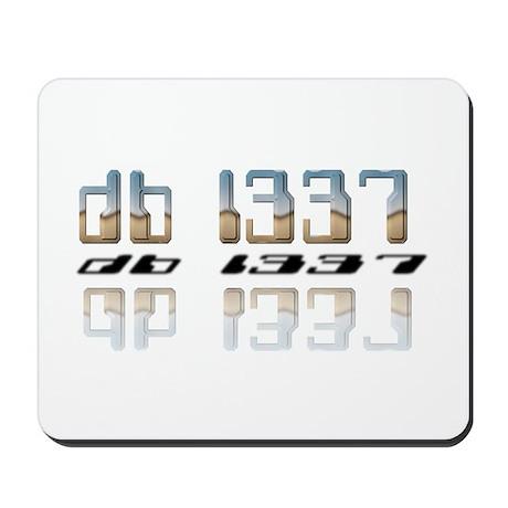 """db l337"" Mousepad"