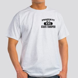 Property of a State Trooper Light T-Shirt
