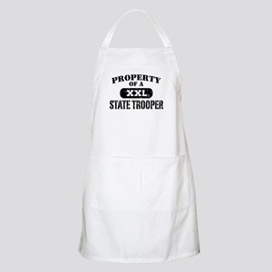 Property of a State Trooper Apron