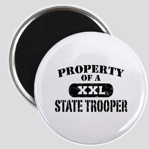 Property of a State Trooper Magnet