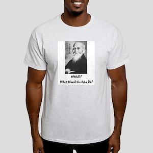 What would Ueshiba do? Ash Grey T-Shirt