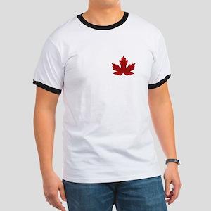 Canadian Maple Leaf Ringer T