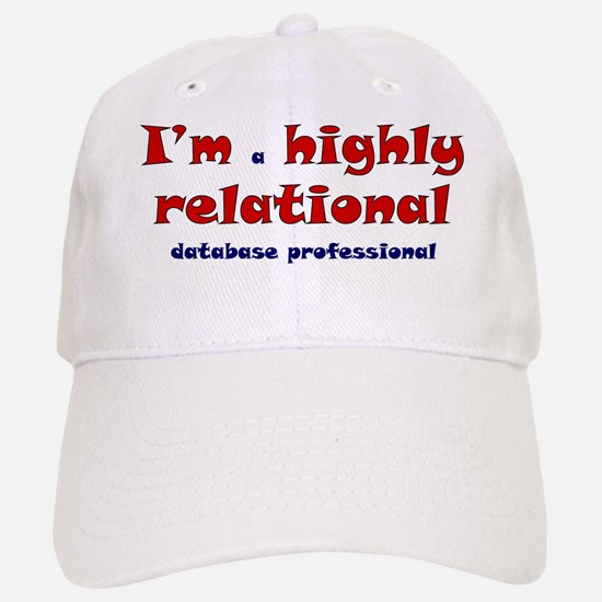 """Highly Relational"" Baseball Baseball Cap"