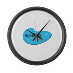 Space Cadet Large Wall Clock