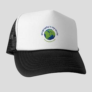 'Geography is my World' Trucker Hat