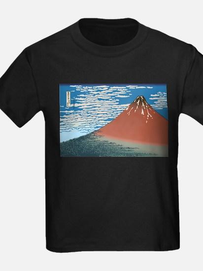 Hokusai Red Fuji T