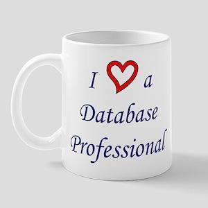 """I Love a DB Pro"" Mug"