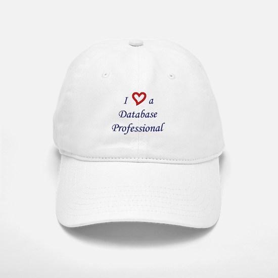 """I Love a DB Pro"" Baseball Baseball Cap"