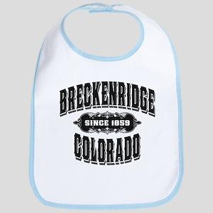 Breckenridge Since 1859 Black Bib
