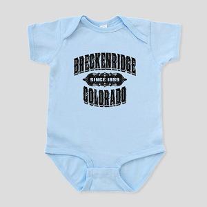 Breckenridge Since 1859 Black Infant Bodysuit