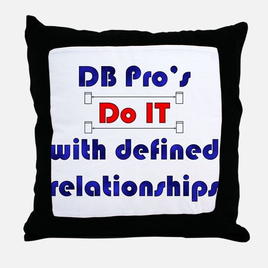 """Do IT"" Throw Pillow"