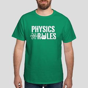 Physics Rules Dark T-Shirt