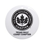 Texas Gulf Coast Chapter Ornament (Round)