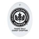 Texas Gulf Coast Chapter Ornament (Oval)