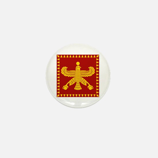 Cyrus the Great Persian Standard Flag Mini Button