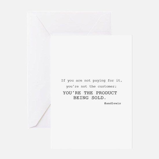 Cute If you are not paying for it Greeting Card