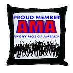 Proud Member of the AMA Throw Pillow