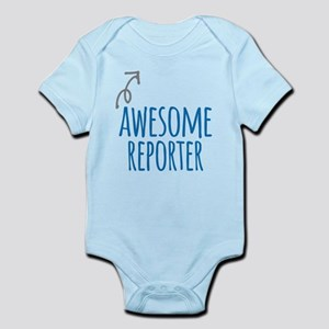 Awesome reporter Body Suit