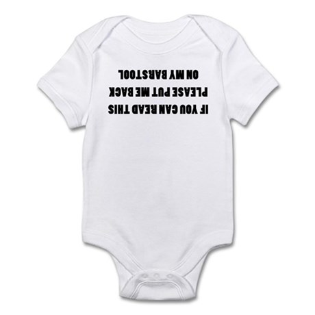 Bar Stools Infant Bodysuit