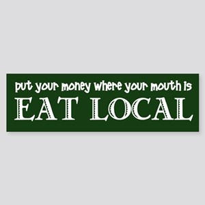 Local Money - Sticker (Bumper)