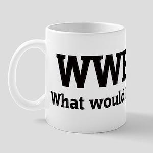 What would Brad do? Mug