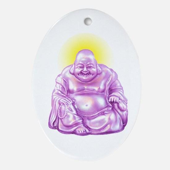 HAPPY BUDDHA Ornament (Oval)