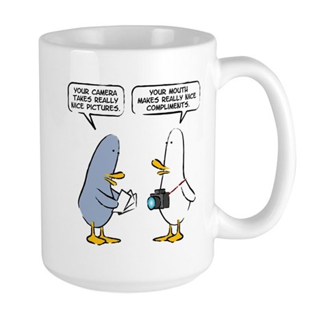 "WTD ""Mind Over Matter"" Single Large Mug"