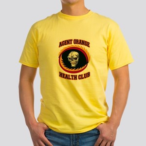 AGENT ORANGE HEALTH CLUB Yellow T-Shirt