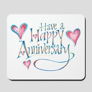 Happy Anniversary Mousepad