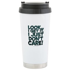 I just don't care Stainless Steel Travel Mug
