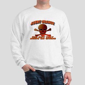 AGENT ORANGE SKULL Sweatshirt