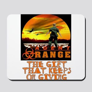 AGENT ORANGE SUNSET Mousepad