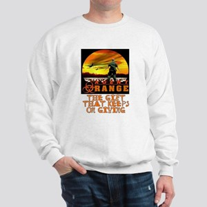 AGENT ORANGE SUNSET Sweatshirt