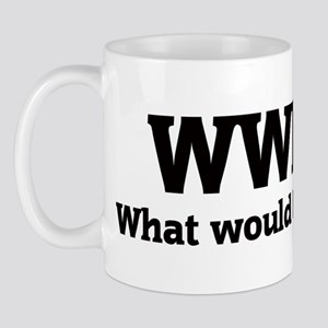 What would Booker do? Mug