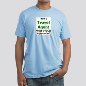 travel agent Fitted T-Shirt