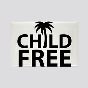 Childfree Rectangle Magnet