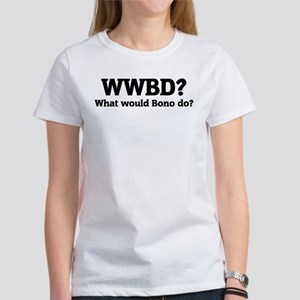 What would Bono do? Women's T-Shirt