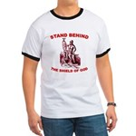 Stand Behind the Shield of Go Ringer T