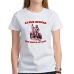 Stand Behind the Shield of Go Women's T-Shirt