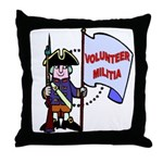 Volunteer Militia Throw Pillow