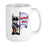 Volunteer Militia Large Mug