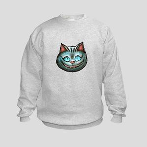Cheshire Cat Kids Sweatshirt