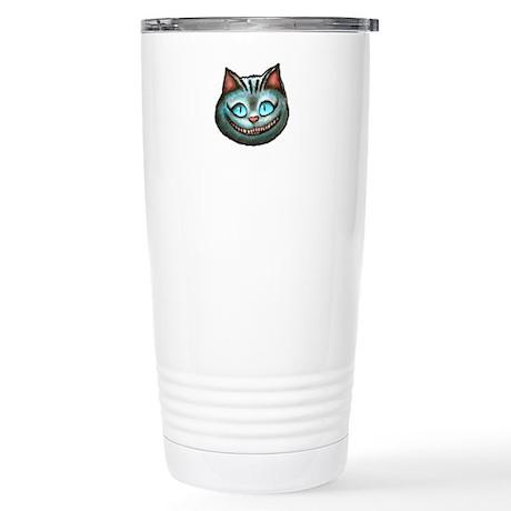 Cheshire Cat Stainless Steel Travel Mug