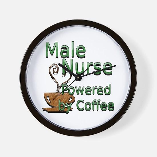 Male nurse Wall Clock