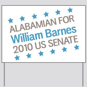Alabambian for Barnes Yard Sign
