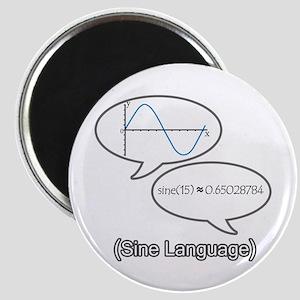 Sine Language Magnet